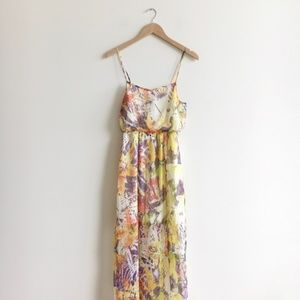 Jessica Simpsons Floral Maxi Dress